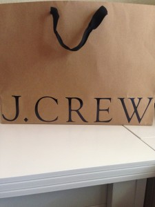 J.Crew Shopping Bag