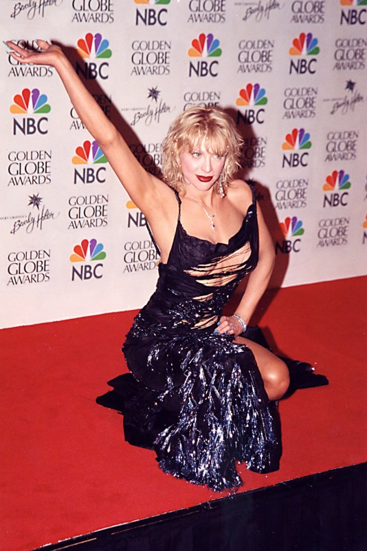 Courtney Love Golden Globes
