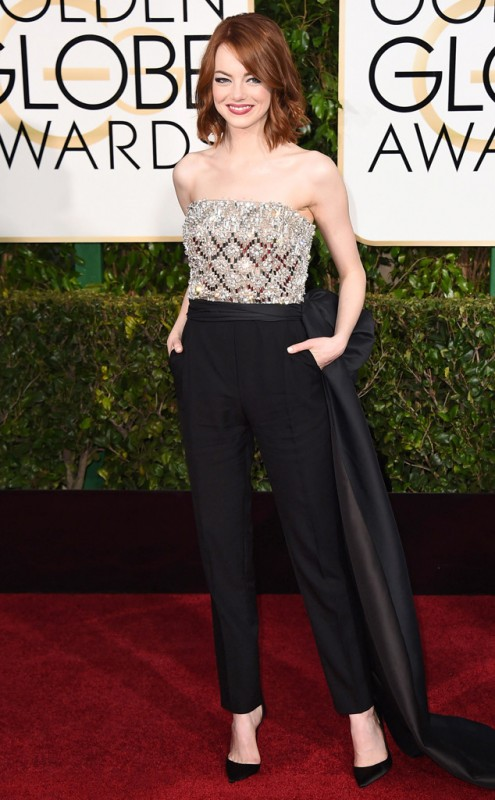 Emma Stone Golden Globes Best