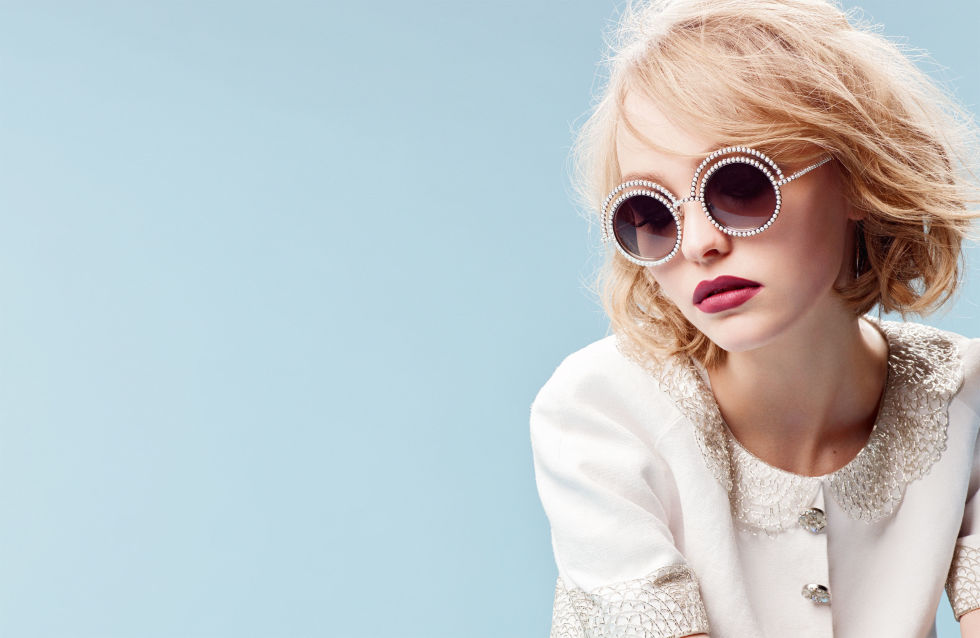 Lily-Rose Depp Chanel Eyewear