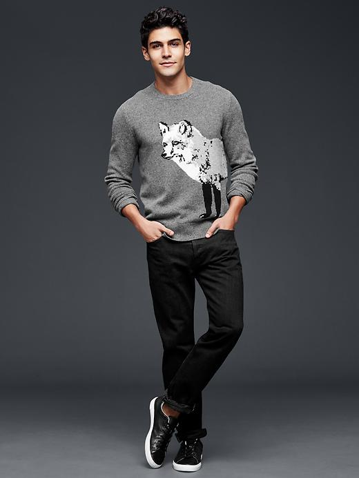 Gap Fox Sweater