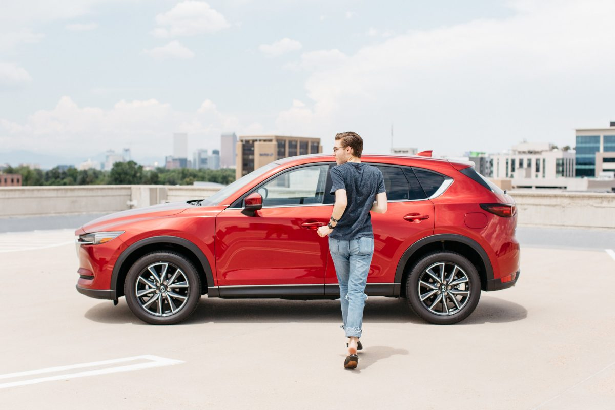 Image of 2017 Mazda CX-5 Red Car