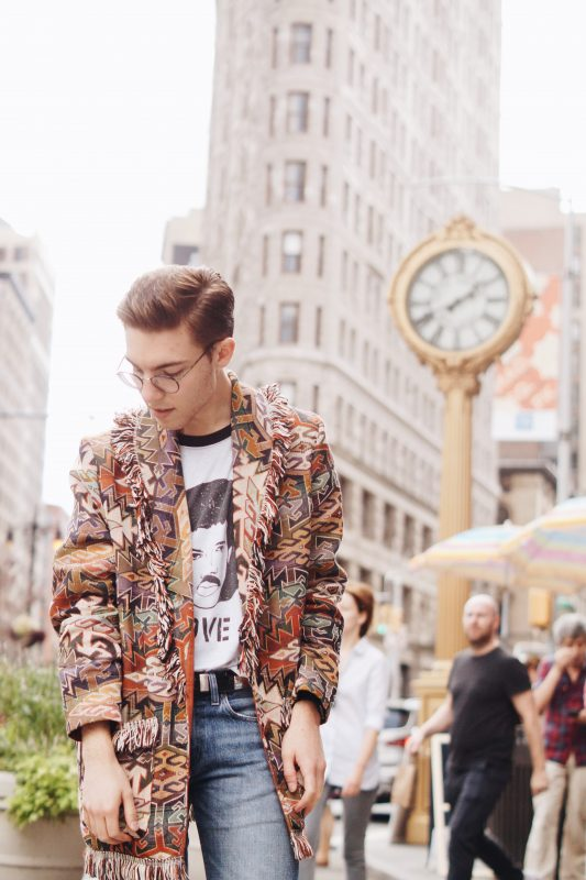 Image of male style blogger