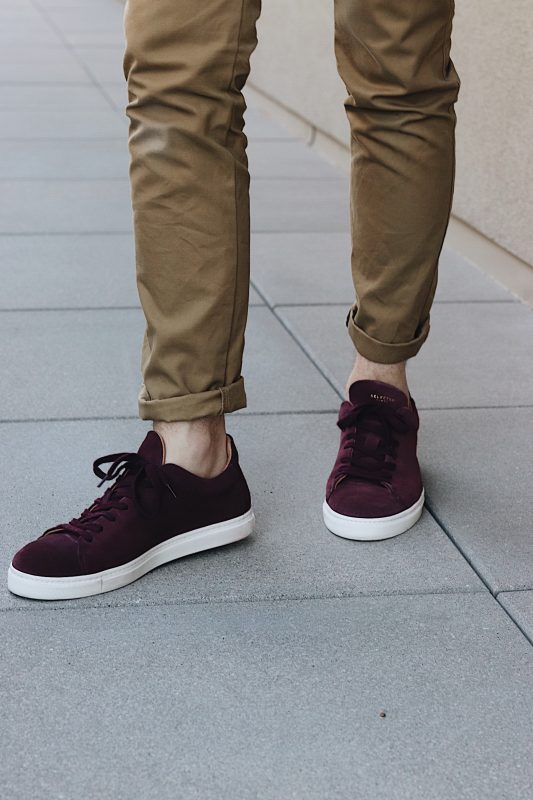 Selected Homme Premium Suede Sneakers