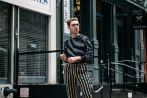 Stripes on Stripes: NYFW PT. 1